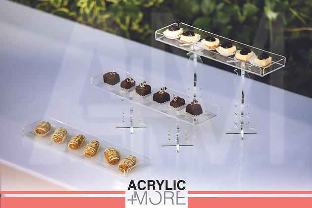 Acrylic Chocolate Tray Set