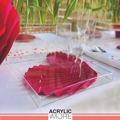 Acrylic Charger Plate