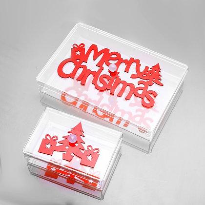 Rectangle Christmas chocolate box