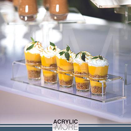 dessert cups acrylic holder