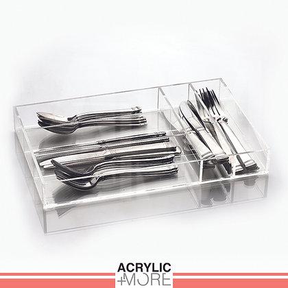Acrylic Cutlery Tray