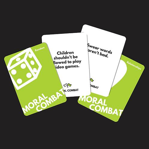Moral Combat: Family Friendly Edition (Original Base Deck)