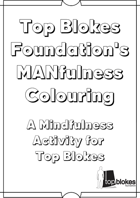 MANfulness Colouring Book (For Kids)