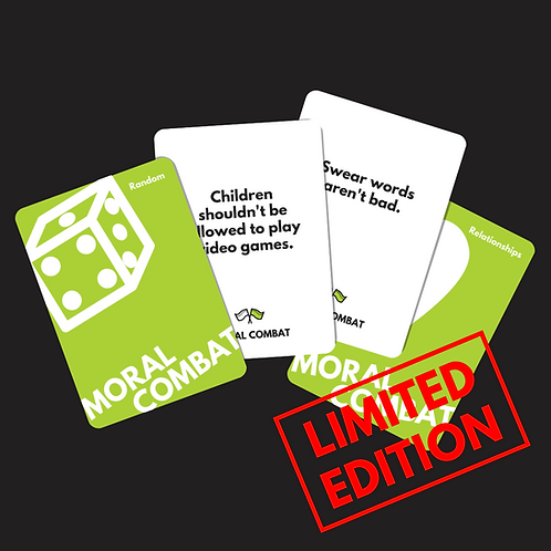 Moral Combat: The Card Game - Physical Decks