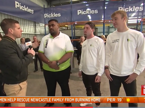 Sunrise interview with Sam Mac and our Youth Ambassadors