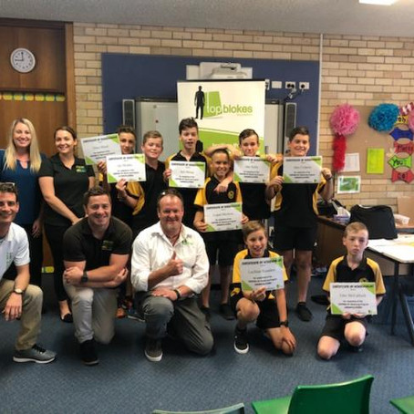 We launch the Stepping Up program for boys aged 10-13