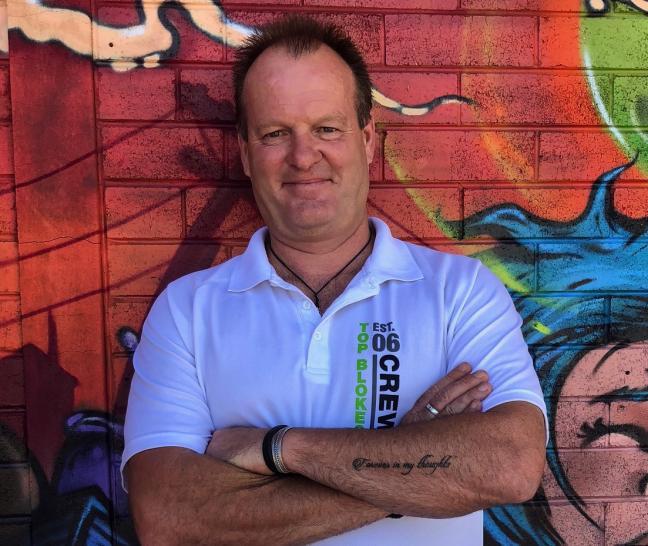Top Blokes Central Coast Program Coordinator Kevin Hull