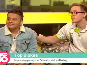 Studio10 Interview with Top Blokes