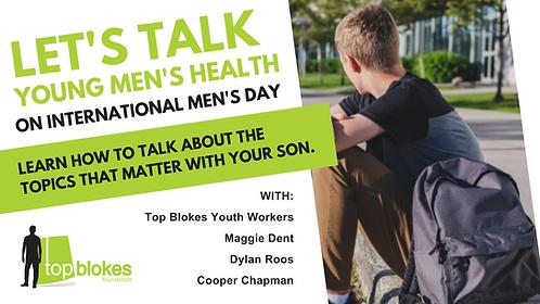 Let's Talk Young Men's Health Webinar