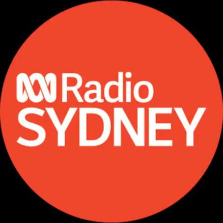Interview with ABC Radio Sydney