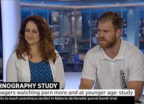 ABC News 24 - Top Blokes on Pornography and its effects on young males' mental and social health