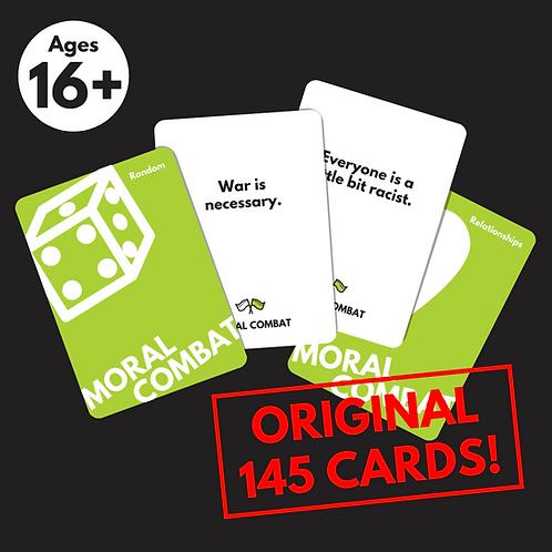 Moral Combat: For People Aged 16-99 (Original Base Deck)