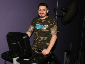 Henry Watkins' 24-hour non-stop fitness challenge turns heads