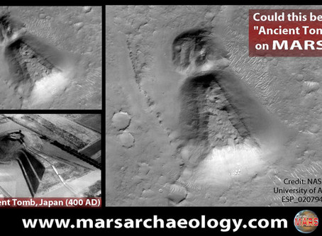 "Could This Be an ""Ancient Tomb"" on MARS?"