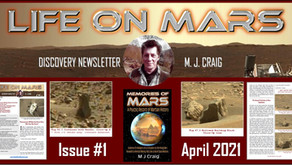 'Life on Mars Discovery' Newsletter, April 2021 by M. J. Craig