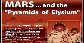 Pyramids on Mars: Europe's Space Agency May Want to Find Them!
