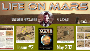 Life on Mars Discovery Project: May 2021 Issue - Newsletter by M. J. Craig
