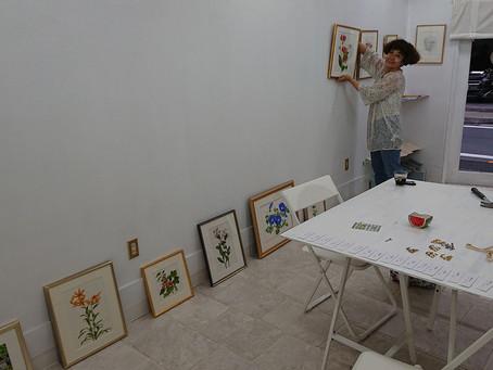 須藤美保展 展示作業完了