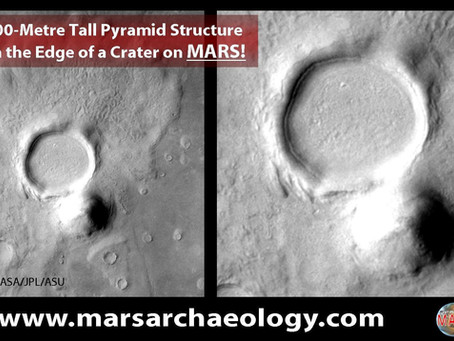 A 600-Metre Tall Pyramid Structure...on MARS!