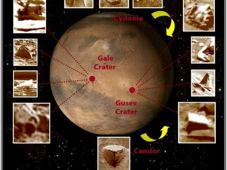 "University Astronomer says: ""We Should Look for Signs of Ancient Civilization on Mars""!"