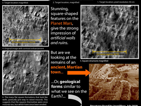 Artificial Constructs on Mars, Or Natural Geology?