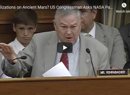 NASA Asked: 'Was There a Civilization on Mars?'