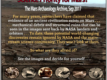 Should 'Archaeology' be the NASA Science Priority for Mars?