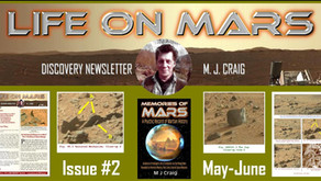 'Life on Mars Discovery' Newsletter, May-June 2021 by M. J. Craig
