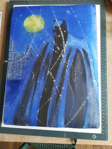Batman dans la nuit