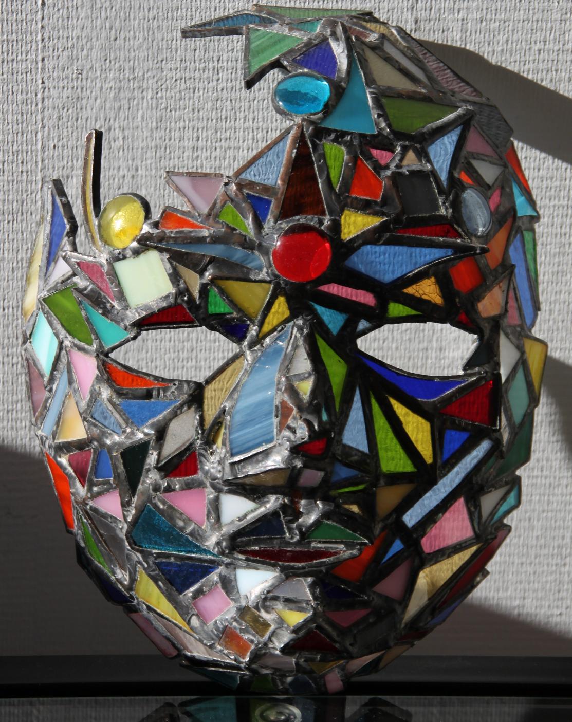 Masque mosaïque