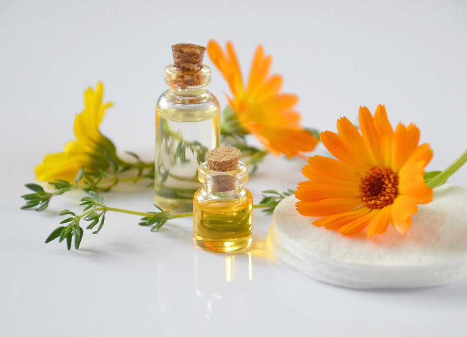 Canva - Essential Oil Bottles and Calend