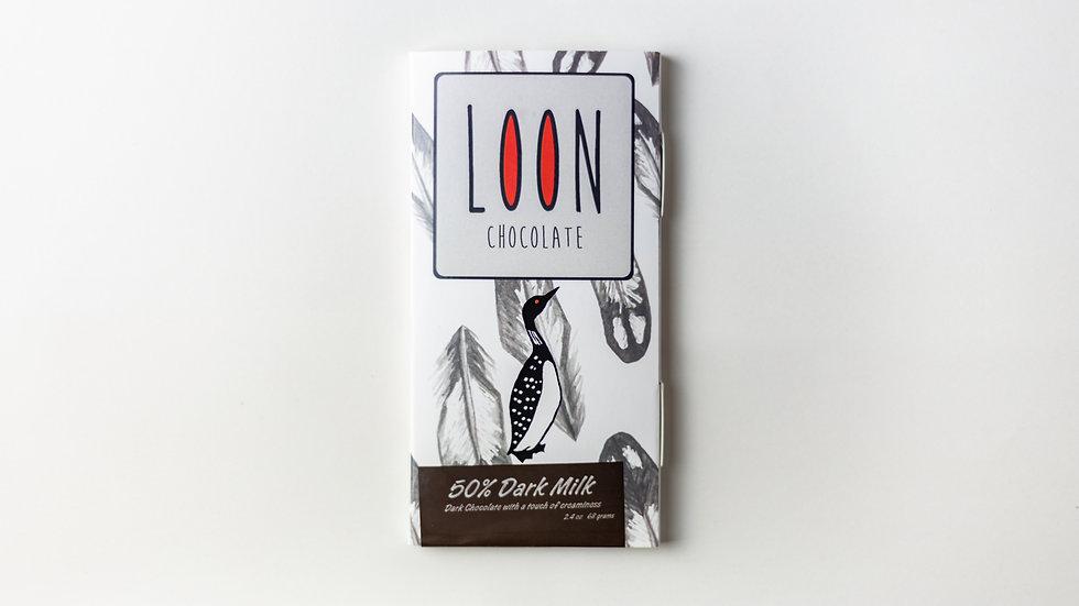 50% Dark Milk Chocolate