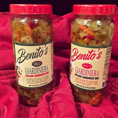 Introducing...our SPICY #giardiniera 🌶t