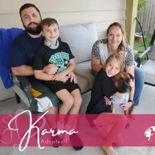 Karma| Adopted 9-28-2020