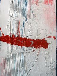 Weiß mit Rot