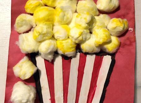 Popcorn Speech and Language Activity