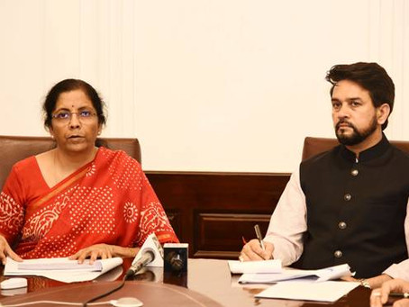 Finance Minister announces several relief measures relating to Statutory and Regulatory compliance