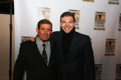 Anthony Sciarratta and his grandfather, Tony Sciarratta