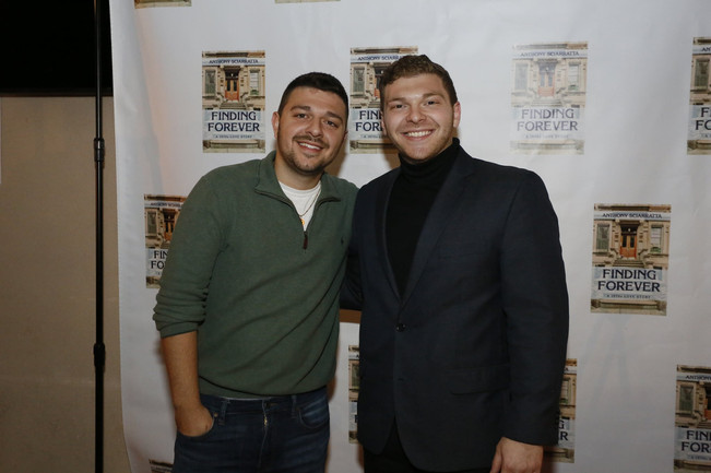Anthony and his brother, Vincent Sciarratta