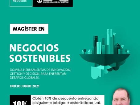 Magíster en Negocios Sostenibles 2021