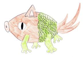FISH-FROG-SNAKE-DOG