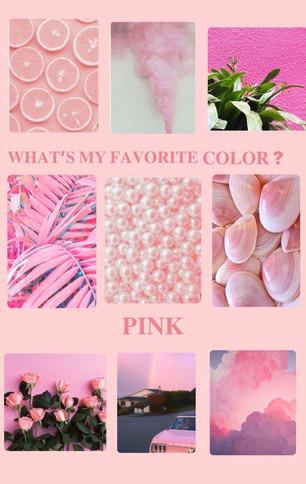 Pink Is My Favorite Color