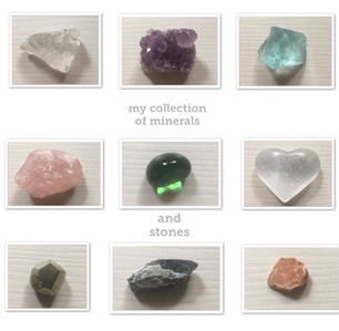 My Collection of Minerals And Stones