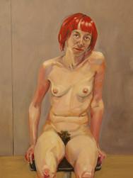 Nu, 2008, huile, 81x60 cm