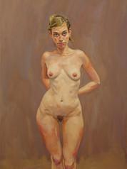 Nu, 2008, huile, 116 x 81 cm