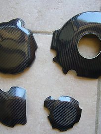 Protections carter à coller GSXR 1000 2005-2006-2007-2008