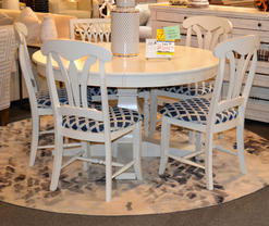 "Canadel 54"" dining set"