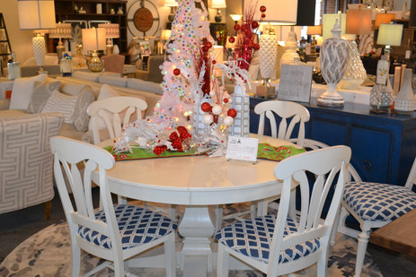 Ready for Christmas with our Canadel Dining Set
