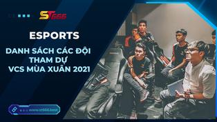 Danh sách các đội tham dự VCS Mùa Xuân 2021
