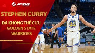 """Stephen Curry vẫn ném """"clutch"""" nhưng lần này anh đã không thể cứu Golden State Warriors"""